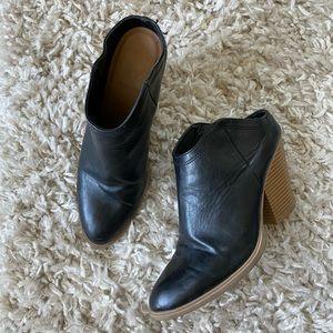 Dolce Vita Heeled Leather Mules